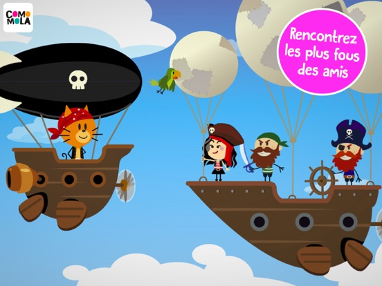Screenshot #4 pour Comomola Pirates