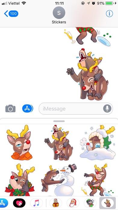 Christmas Mr Deer Sticker 2019 screenshot 3