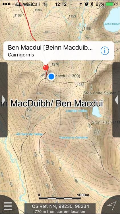 Cairngorms Maps Offline screenshot-3