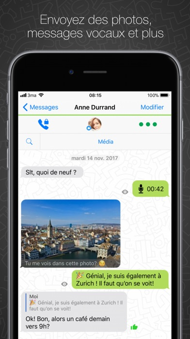 Screenshot for Threema in Lebanon App Store