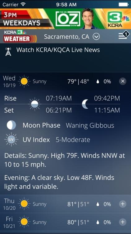 KCRA Weather screenshot-3