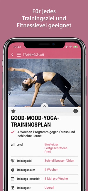 Womens Health Personal Trainer Screenshot