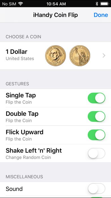 Coin Flip Plus screenshot two