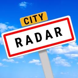 CityRadar Cities around me