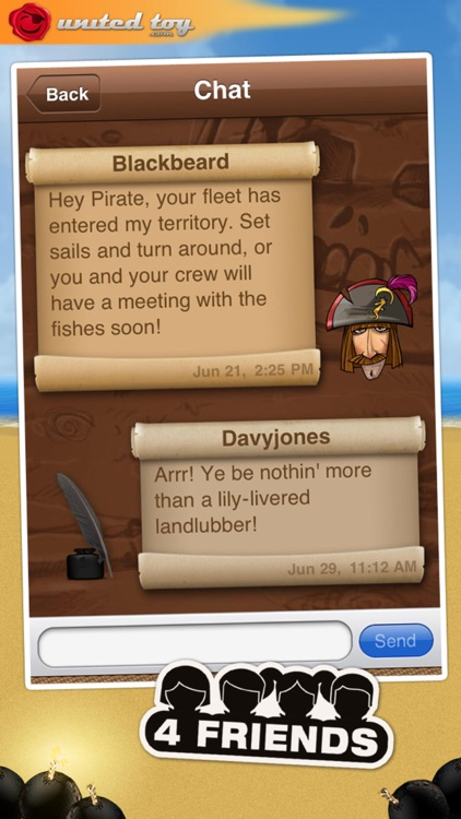 PirateFleet - the famous battleship like game screenshot-4