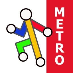 Rome Metro & Tram by Zuti