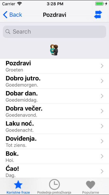 Useful Dutch Slovenian phrases