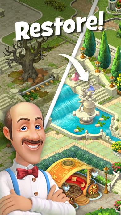 Screenshot of Gardenscapes App