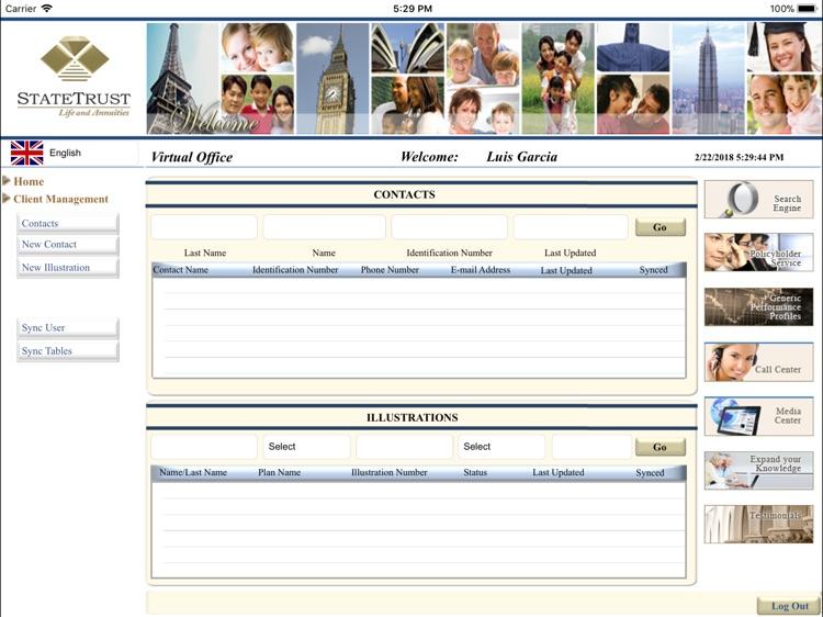 StateTrust Life Virtual Office