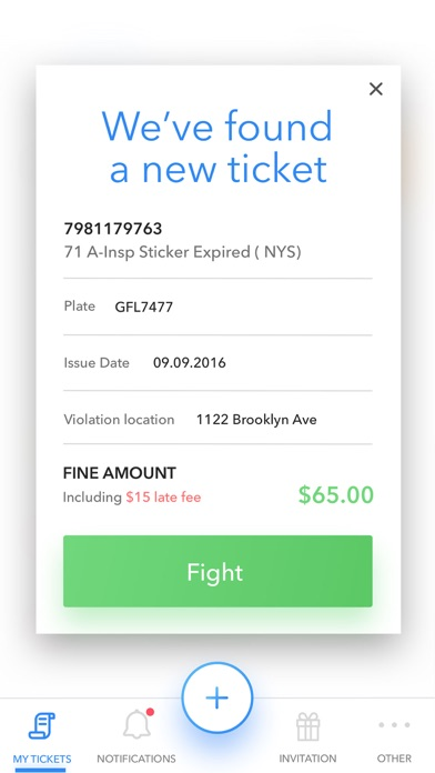 WinIt - Fight Your NYC Tickets for Windows