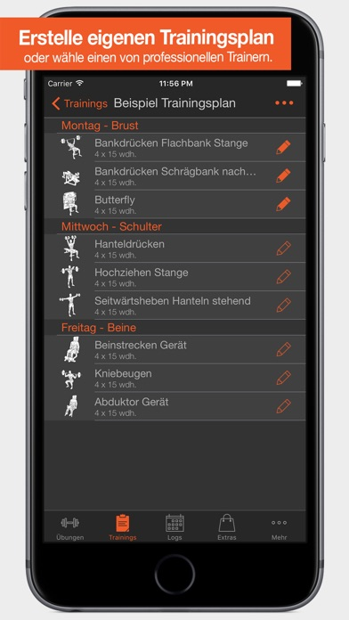 Screenshot for Fitness Point Pro in Germany App Store