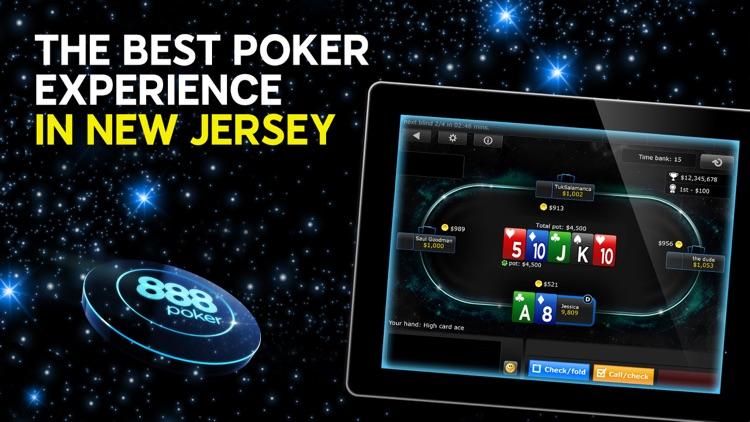888 Poker NJ: Real Money Games