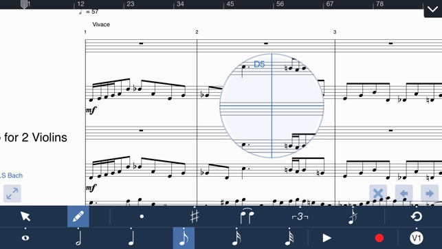 music writing ipad Create, play and print beautiful sheet music world's most popular notation  software free download musescore 232 why musescore professional.
