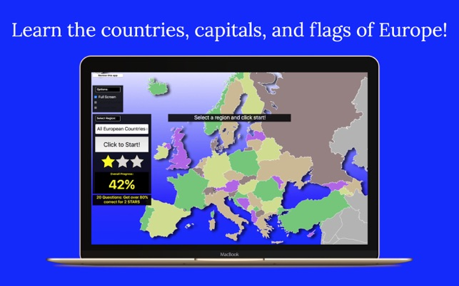 Europe Map Quiz On The Mac App Store