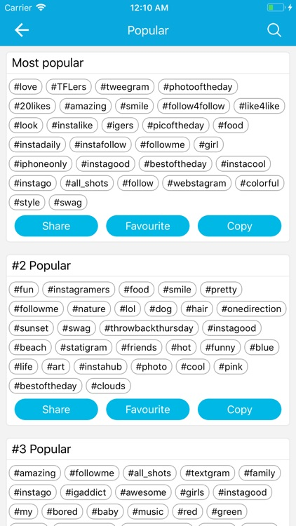 HashTag : #Tag For Instagram screenshot-4