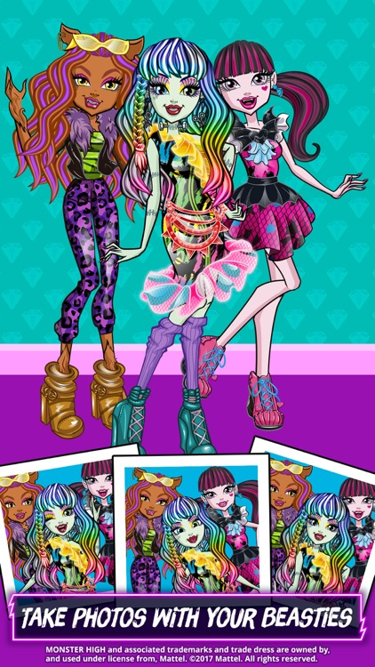Monster High™ Beauty Shop screenshot-4