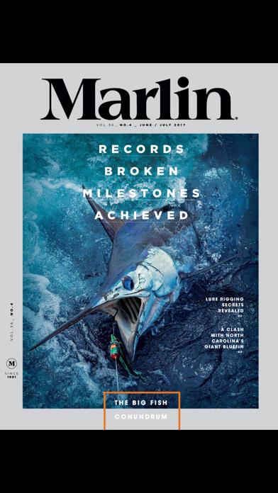 Marlin Magazine screenshot 1