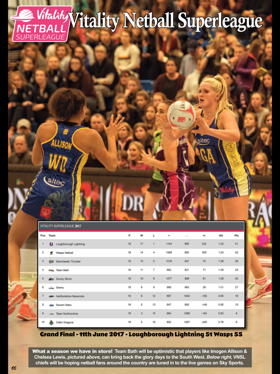 Netball Universe screenshot 9