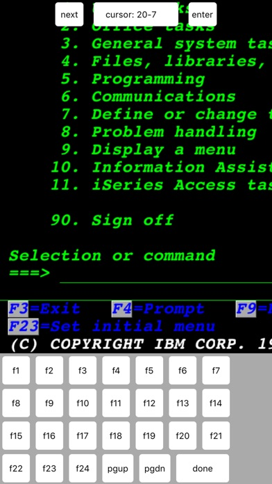 Tn5250 review screenshots