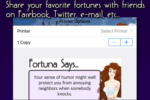 Ask Fortuna - náhled