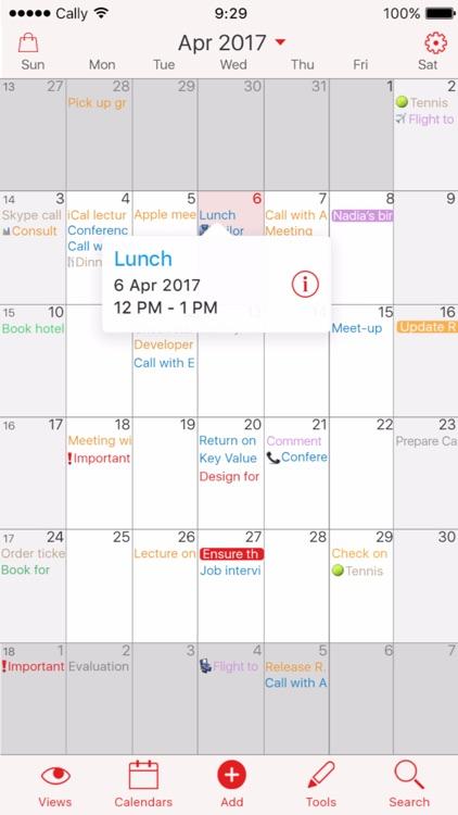 Week Calendar screenshot-3