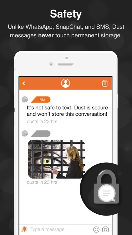 Dust - Private Texting