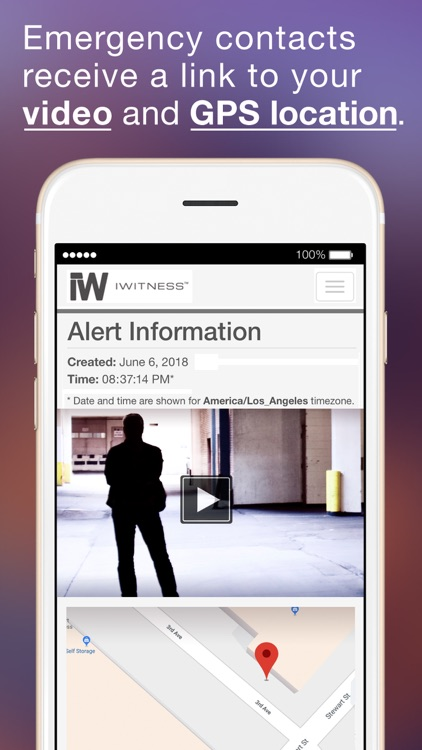 Personal Safety Video app screenshot-3