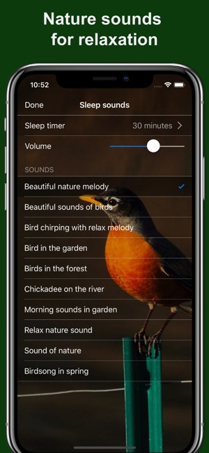 Bird Alarm Clock & Sleep Sound on the App Store