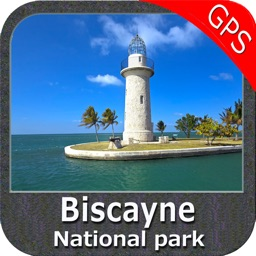 Biscayne National Park - GPS Map Navigator