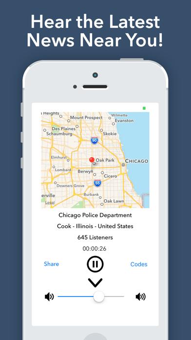 Police Scanner ⁺ Screenshot