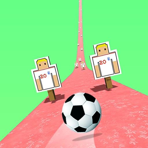 футбол Дорога - мяч бег игра