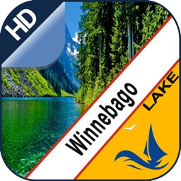 Lake Winnebago gps offline nautical chart