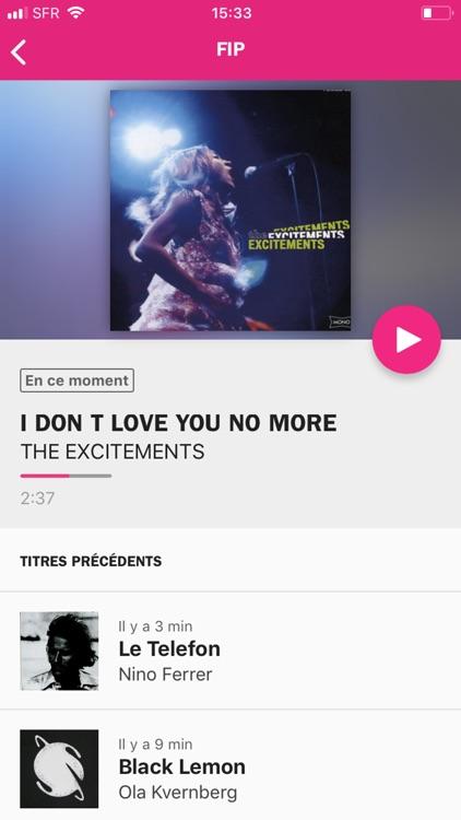 Radio France - direct/réécoute screenshot-6