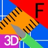 線描 3D (F)