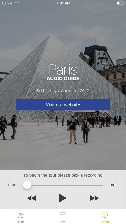 Paris Audioguide