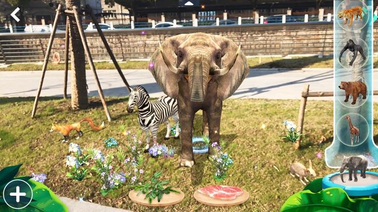 AR Land Zoo - Build & Feed screenshot-3