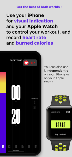 ‎Sport Time: HIIT and Tabata Screenshot