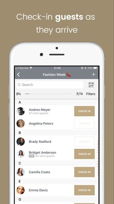 Top 10 Apps like Event check-in Guest list app in 2019 for