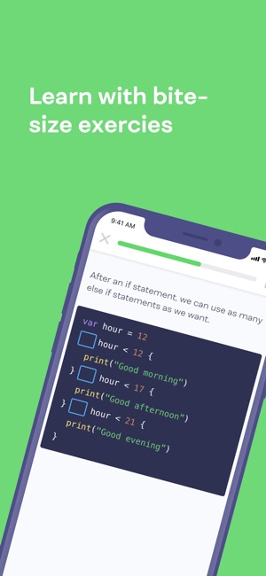 Mimo: Learn to Code Screenshot
