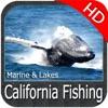 California fishing HD GPS Maps