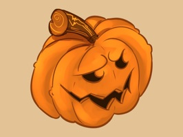 Send a spooky fun Halloween pumpkin to your friends and family to get them in the Halloween spirit