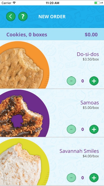 Digital Cookie Mobile App