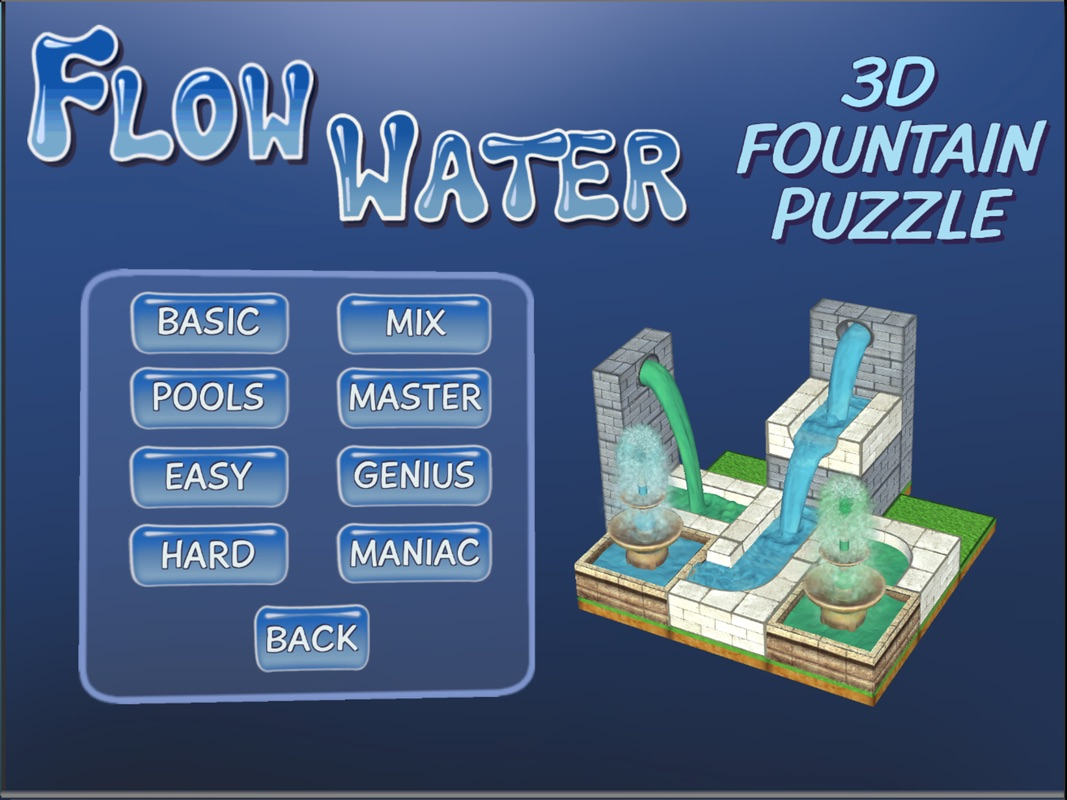 Flow Water Fountain 3D Puzzle Online Hack Tool