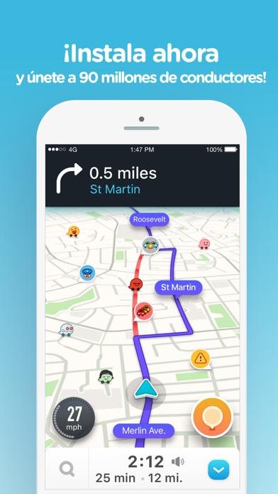 Descargar Waze Navegación y Tráfico para Android
