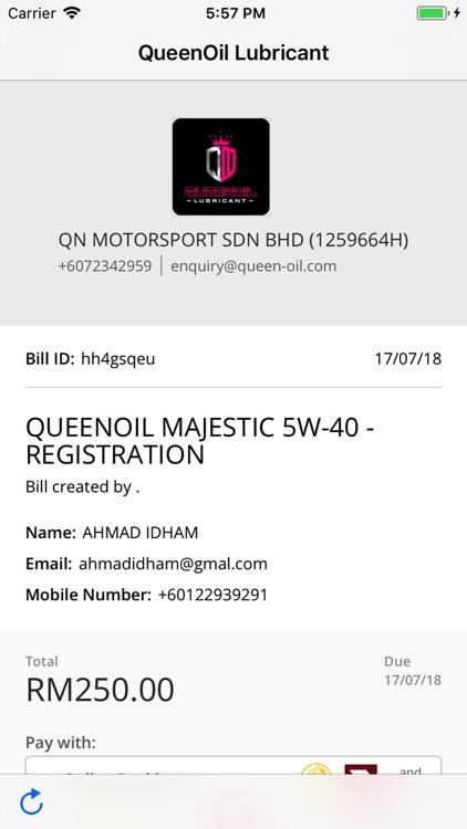 Queenoil Lubricant App screenshot-9