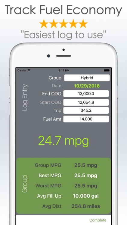 fuel tracker and mpg calculator rh appadvice com