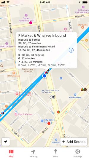 Muni San Francisco Subway Map.Muni Watch Transit App On The App Store