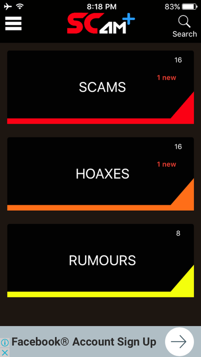 ScamPlus screenshot 1