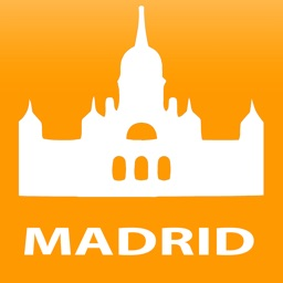 Madrid travel map guide 2018
