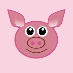 Pink Pig Sticker Pack